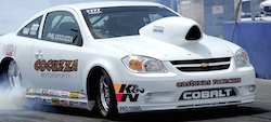 Phil's White Race Car